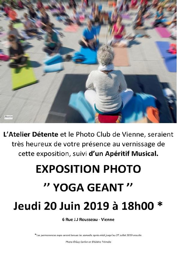 Exposition Photos Yoga Géant @ Atelier Détente