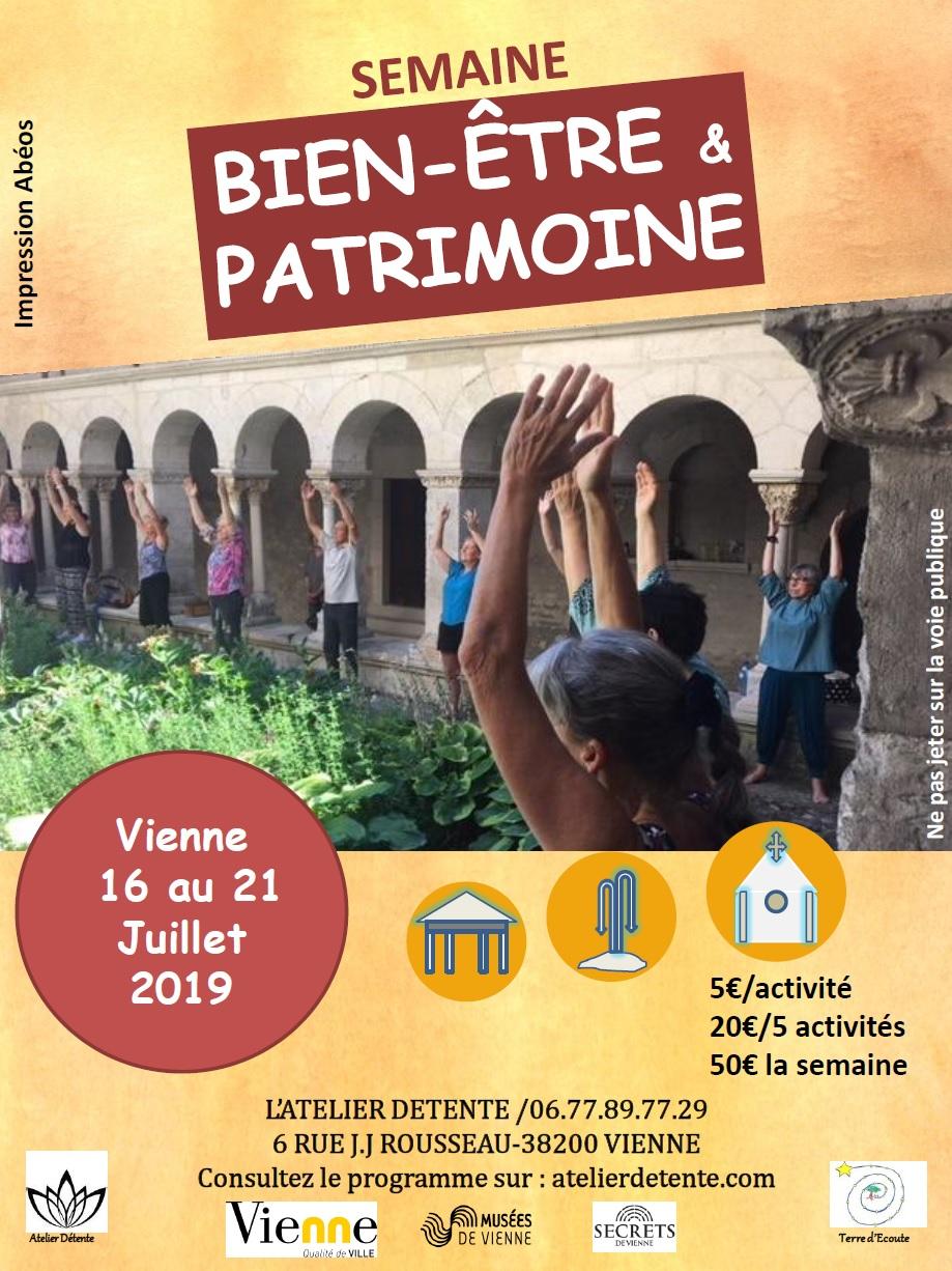 SEMAINE BIEN-ÊTRE & PATRIMOINE 2019 @ Musées de Vienne et lieux historiques